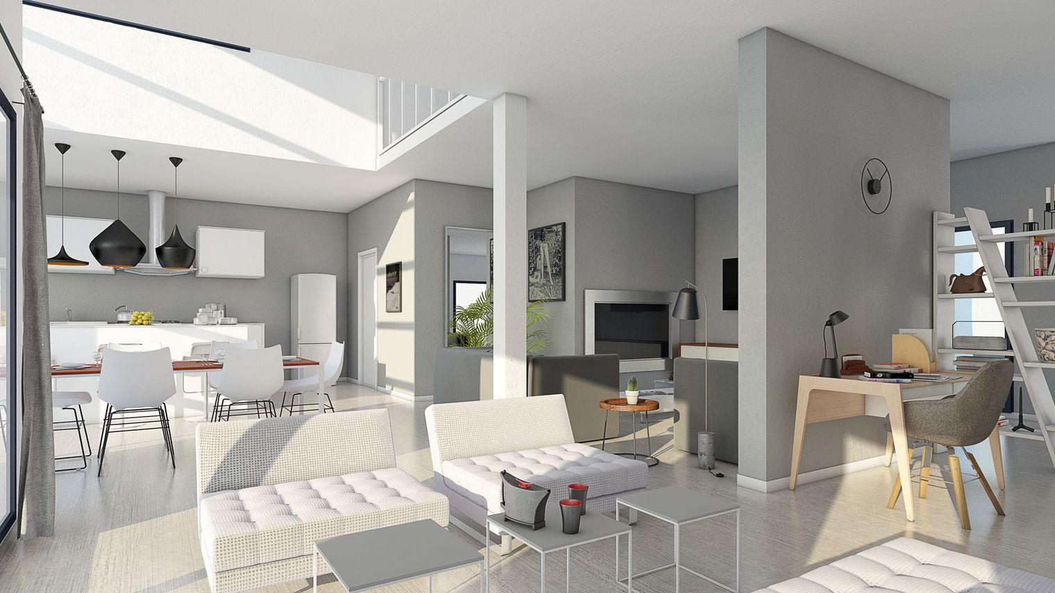 Sublimez votre maison avec un d corateur d int rieur - Couleur pour maison interieur ...